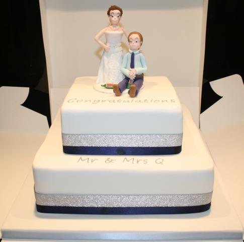 Comedy Wedding Cake Toppers